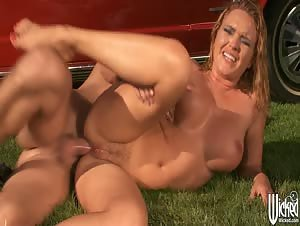 Anal Car Wash Angels Scene 5
